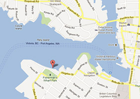 Map of Victoria Harbour